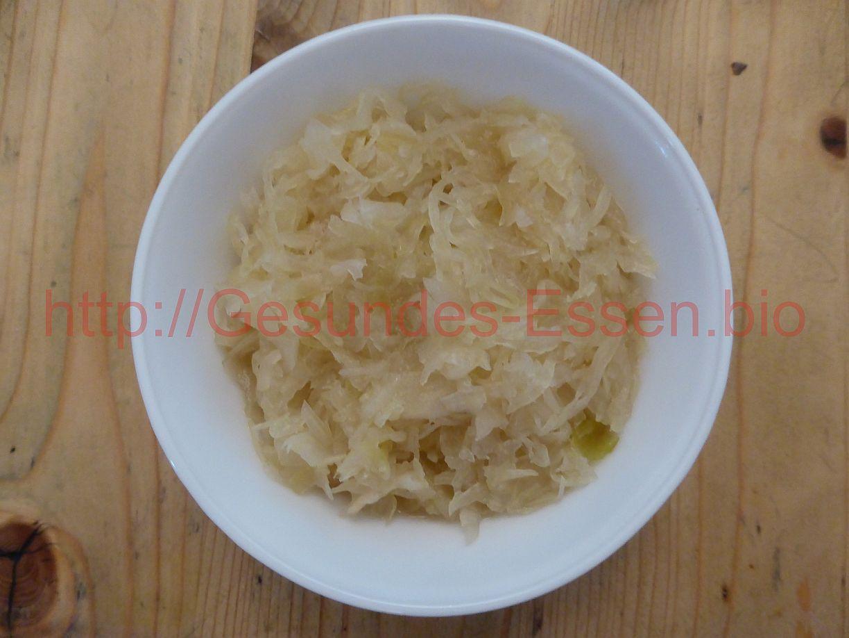 'Meine Sauerkrautkur'