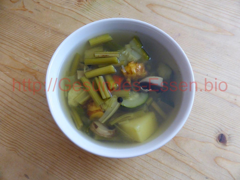 Scharfe Suppe mit Waffenschein